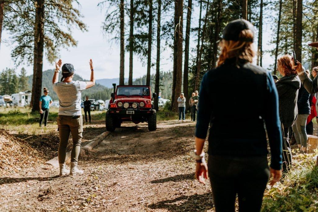 Rebelle Rally training Off-Road Basics