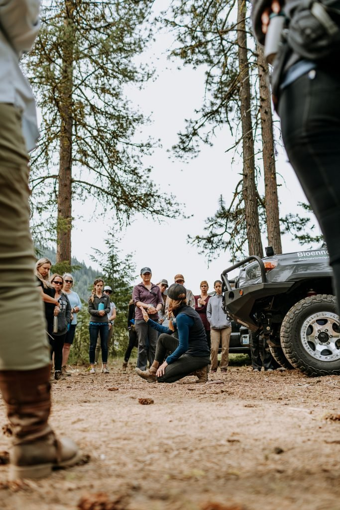 Rebelle Rally training Off-Road Basics