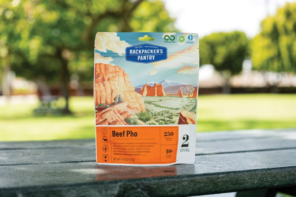Backpacker's Pantry Beef Pho packaged camp food