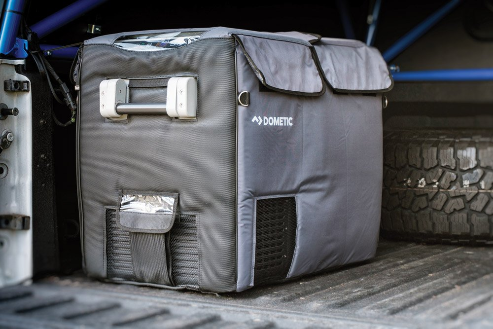 Dometic CFX 65W in the truck bed