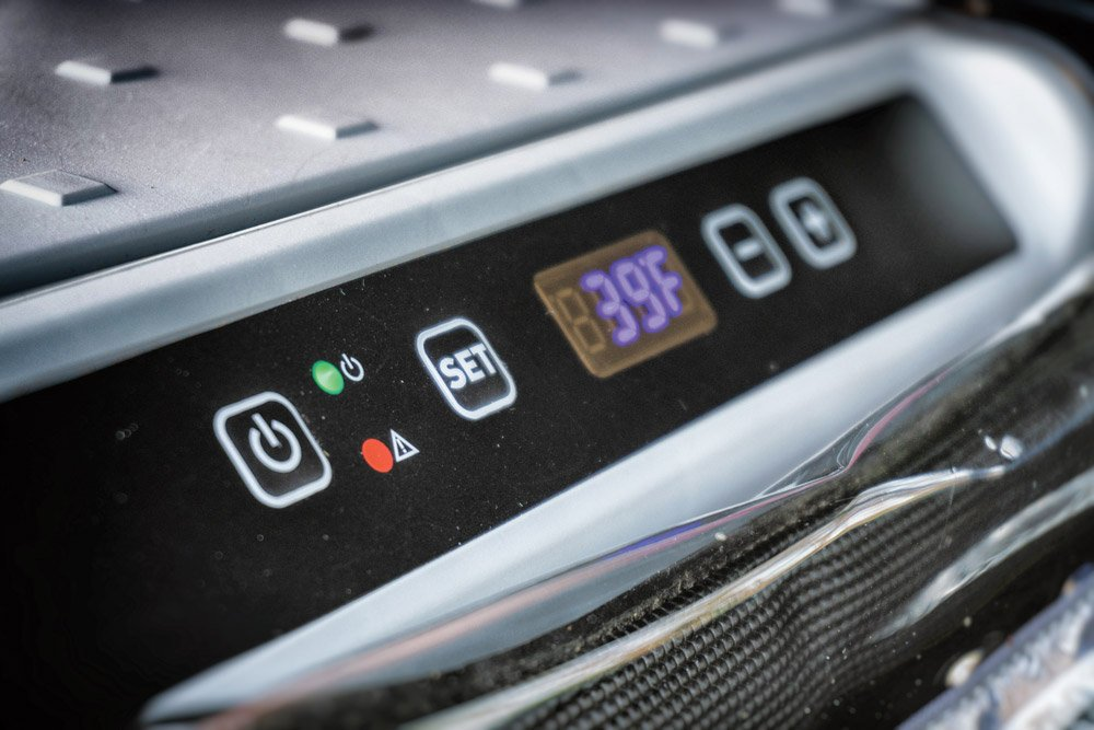 Dometic CFX 65W temperature settings