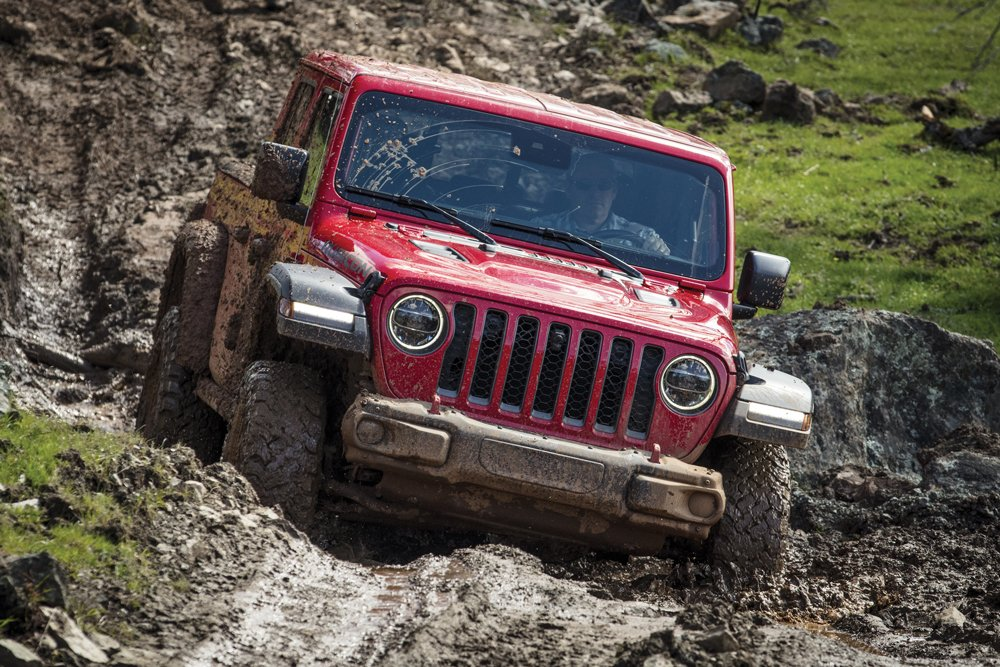 The JT Rubicon is exceptionally capable and in a class of its own