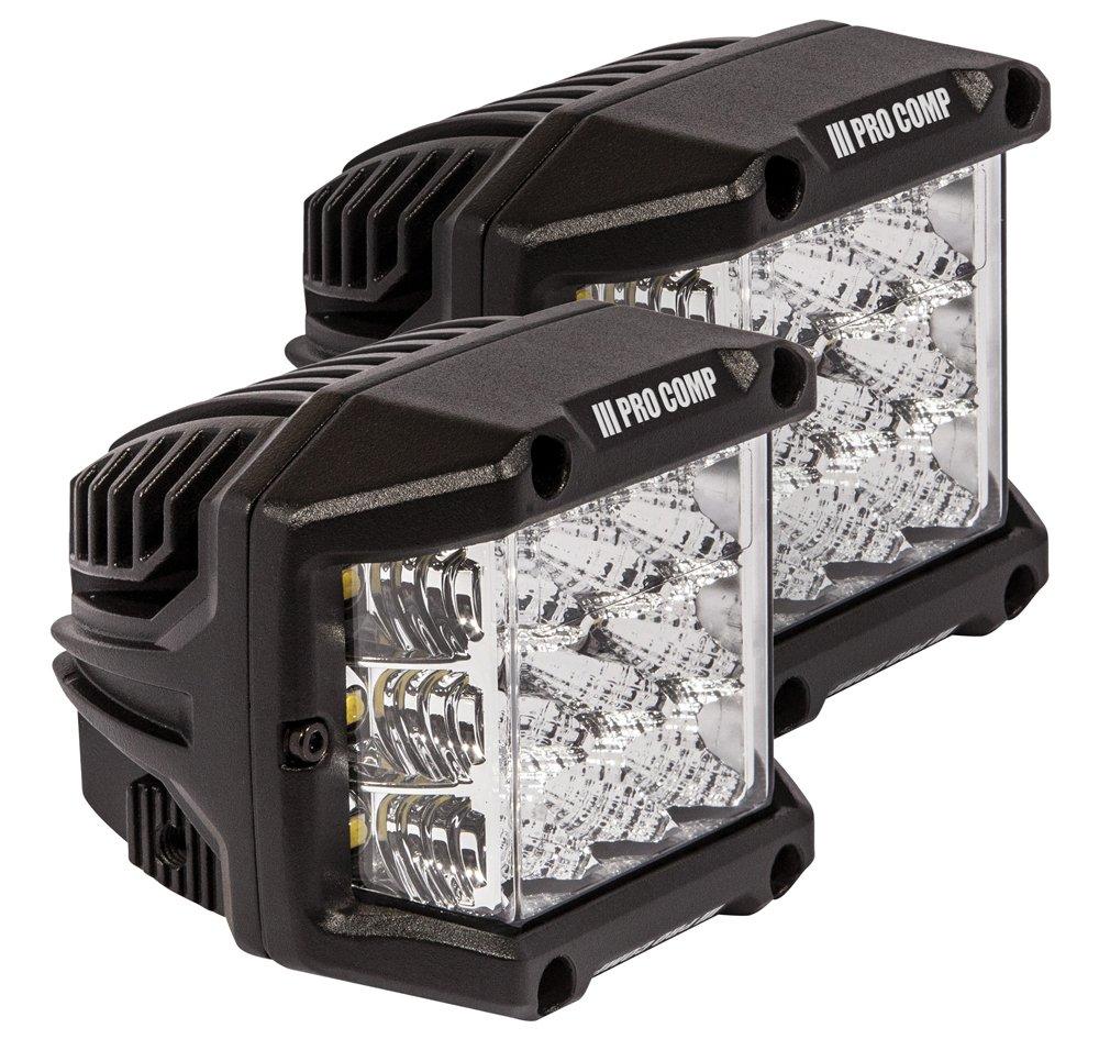 Pro Comp 75-watt Wide Angle Cube Led Lights (76411P)