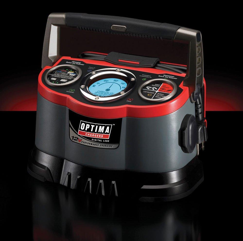 The Optima Digital 1200 12V Performance Charger