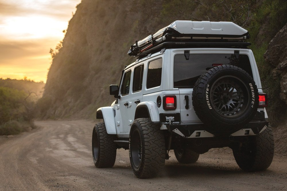 This Jeep enjoys the wanderlust as much as the driver