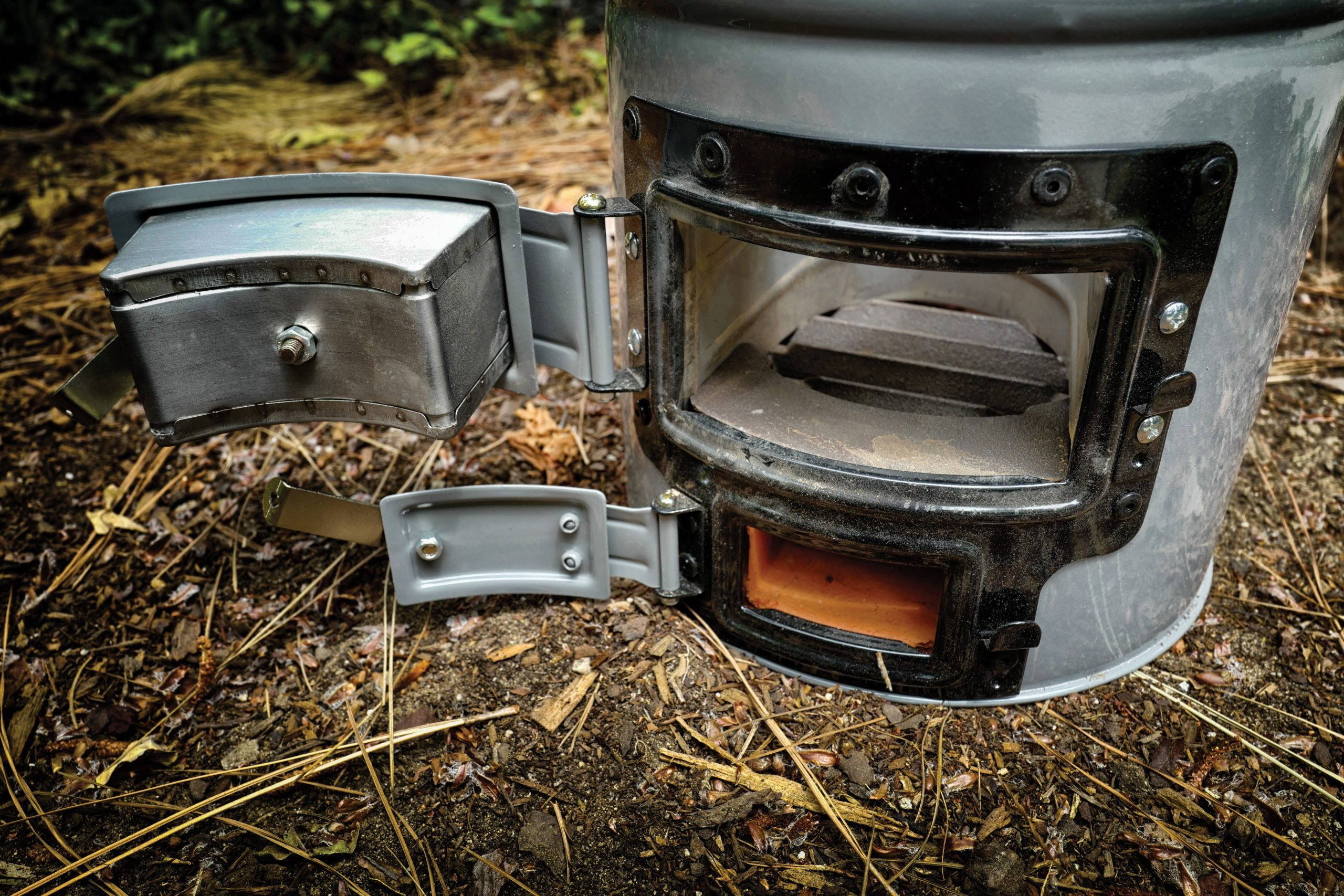 The Versa Stove runs on pretty much anything that burns