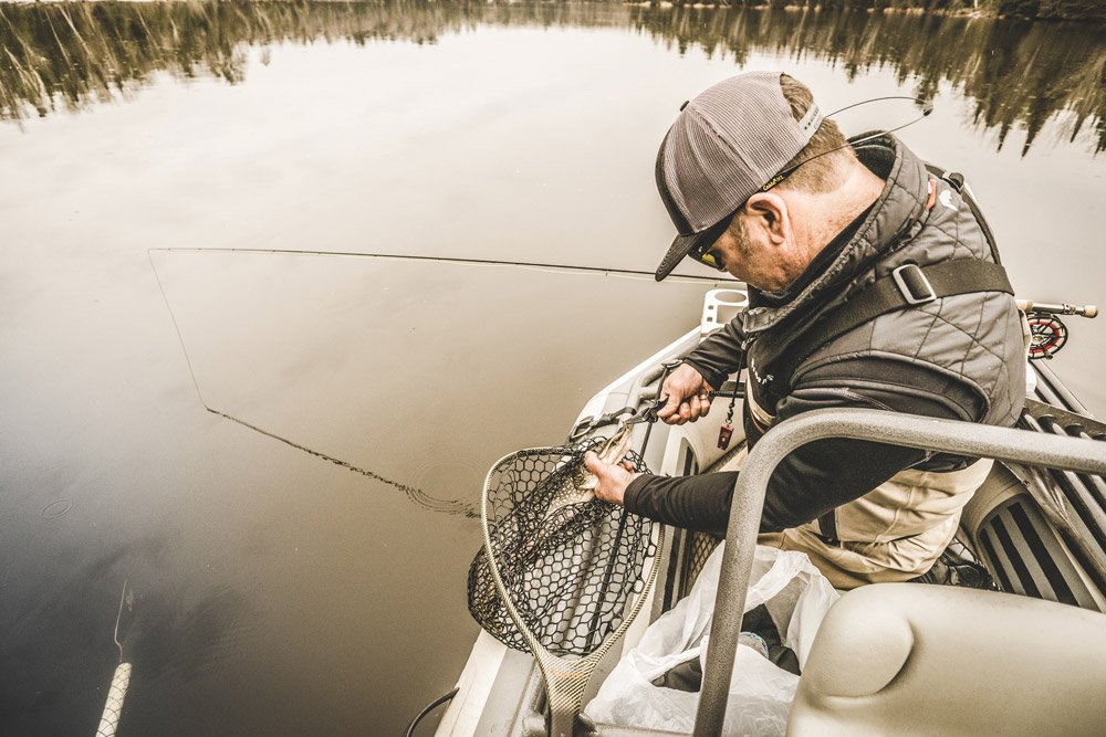 Fly-Fishing takes patience as the Northern Pike like to hide