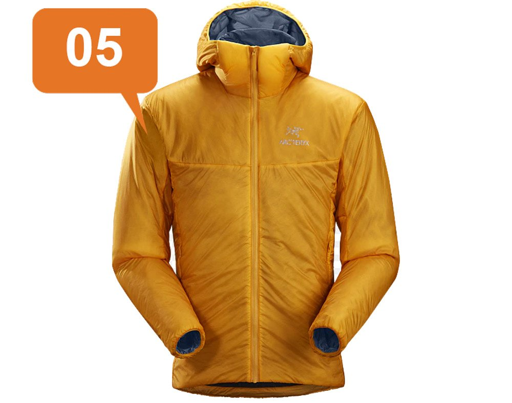 ArcTeryx Nuclei FL jacket