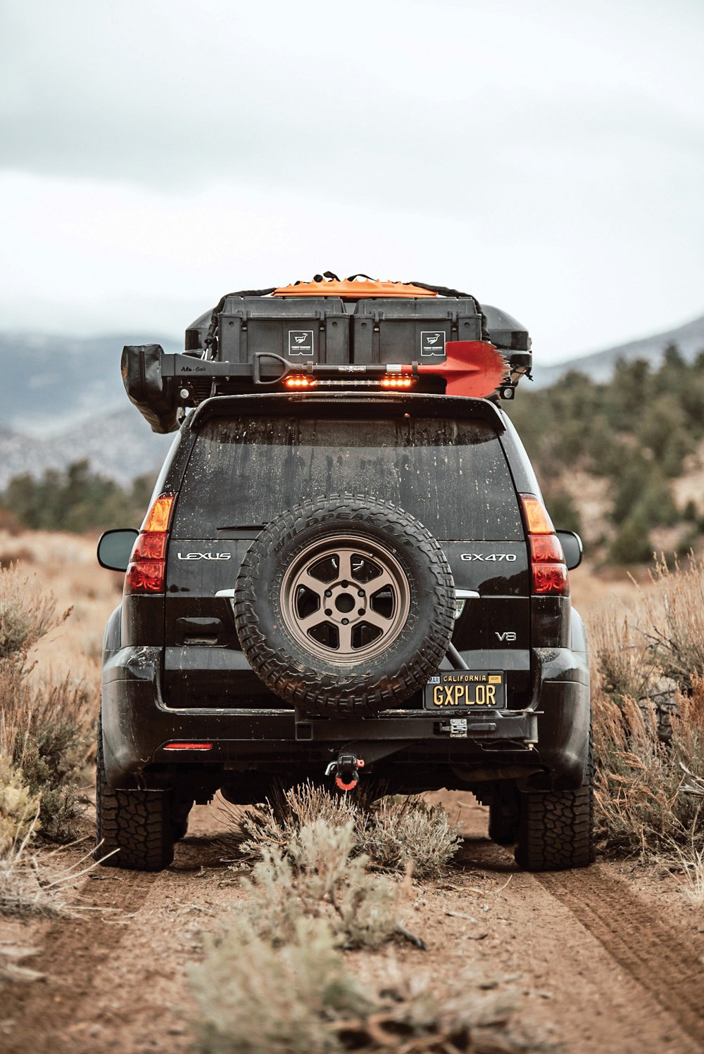 Lexus GX loaded with off-road accessories