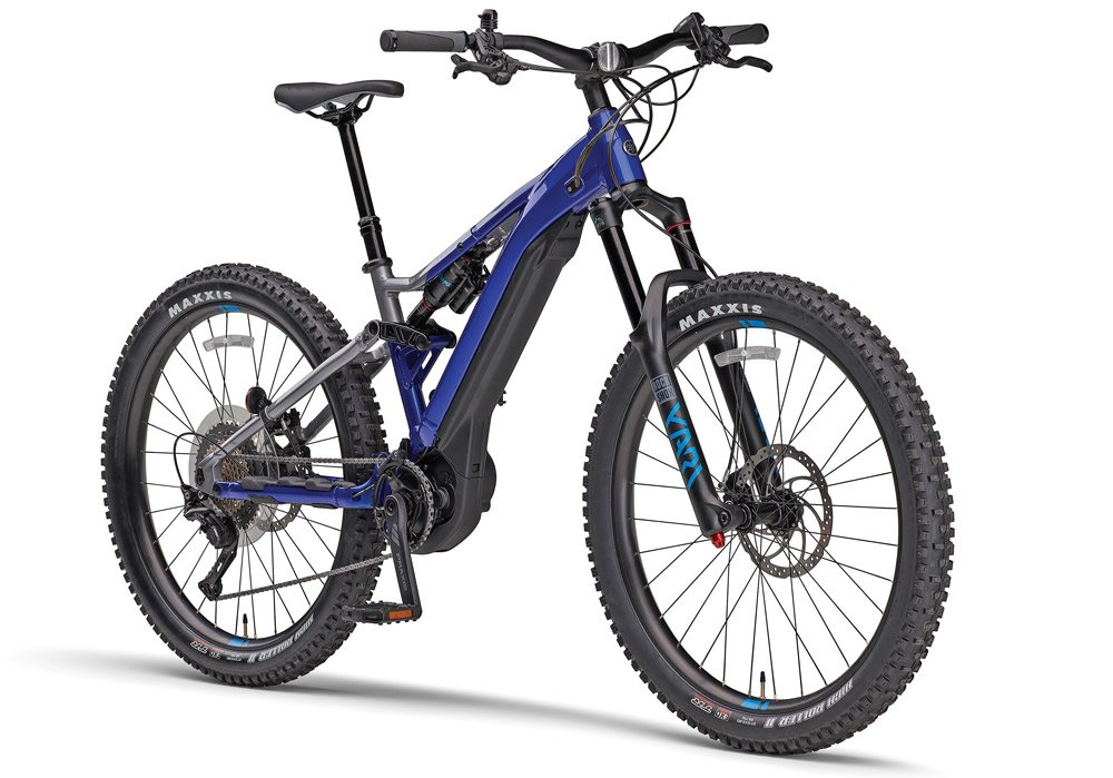 Yamaha recently unveiled e-Mountain bikes. Shown is the YDX-MORO Pro.