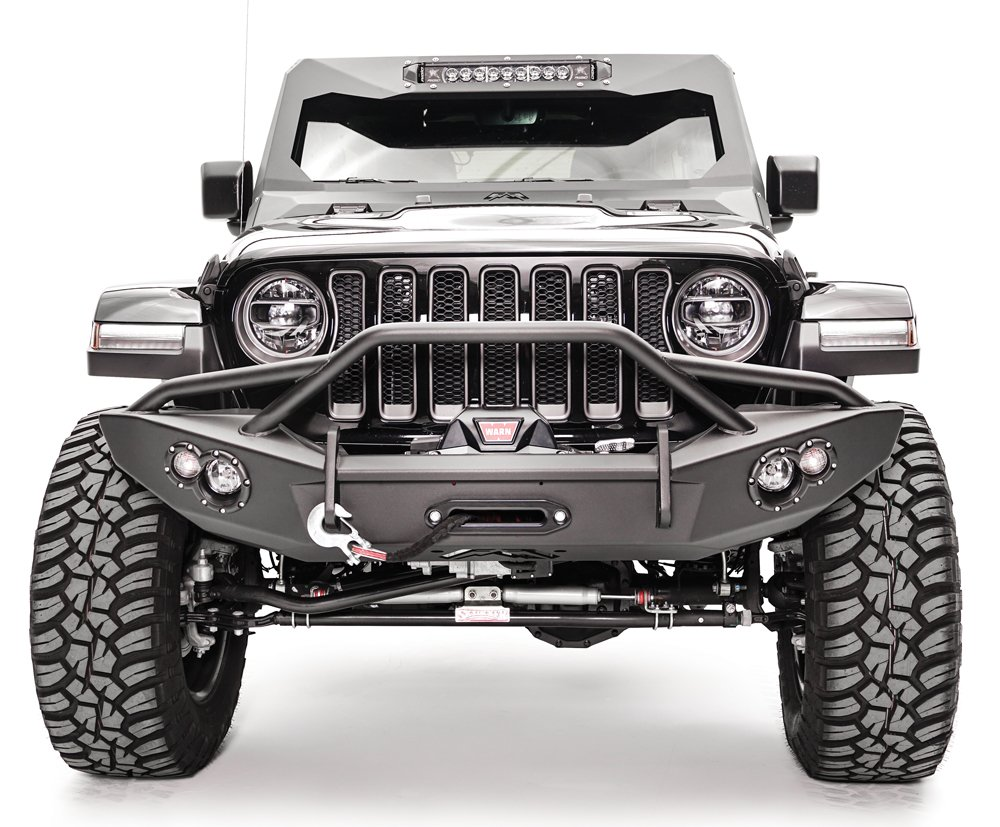 Vehicle Accessories: Fab Fours Lifestyle Winch Bumper