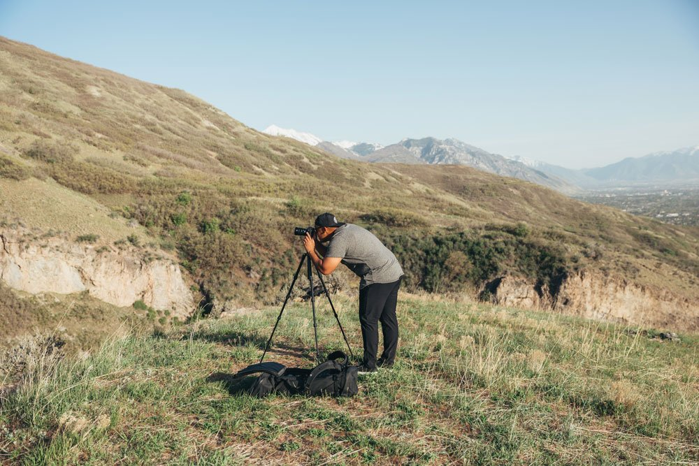 A photographer fits all he needs in the camera-travel bag from WANDRD
