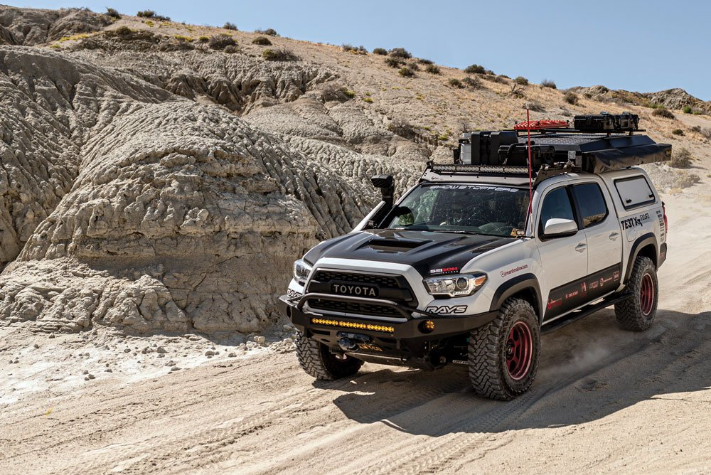 This Tacoma is the perfect family vehicle for the outdoors