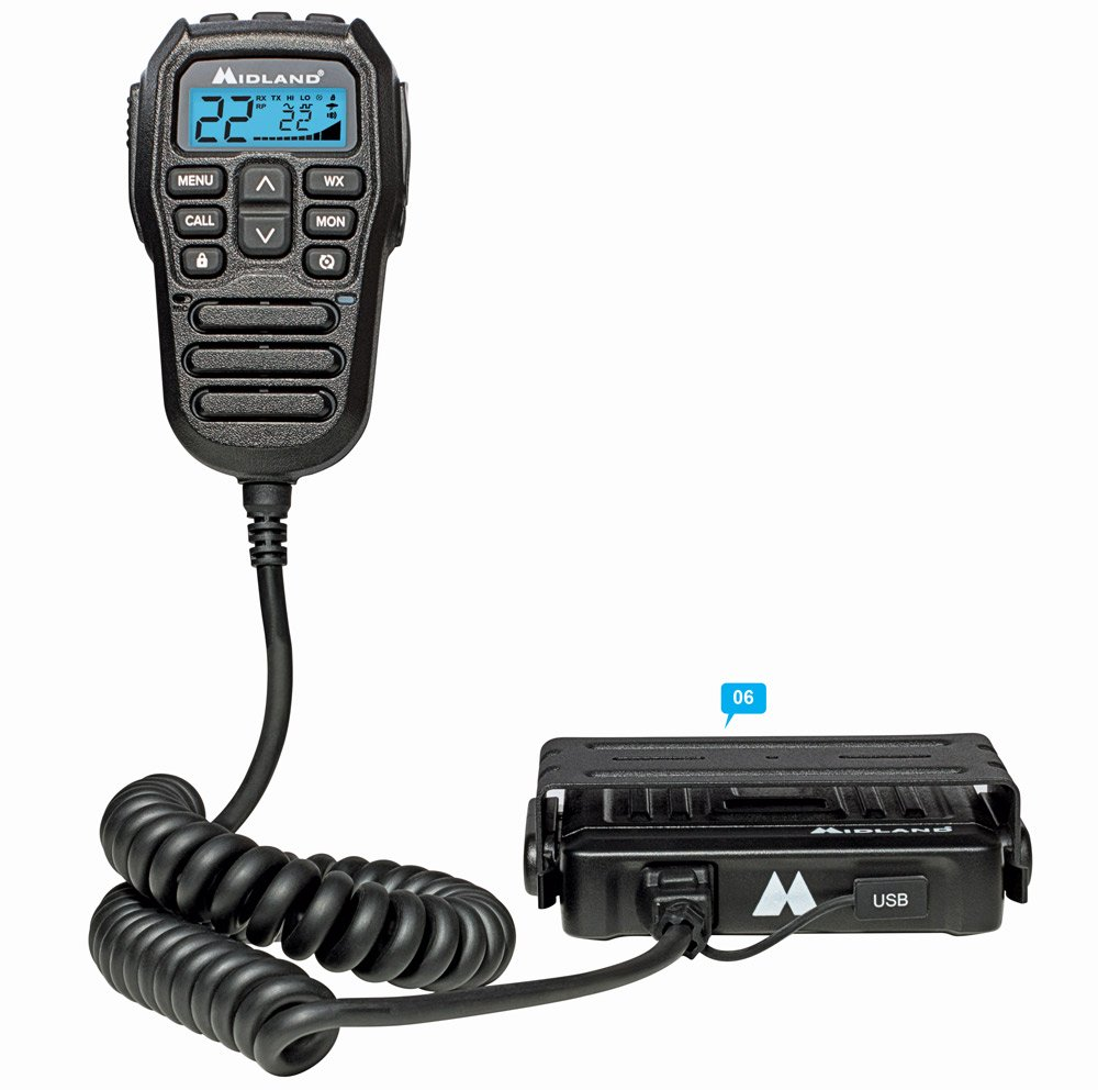 Midland MXT275 Micromobile Two-Way Radio off-road essentials