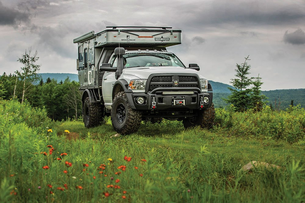 AEV Prospector XL with Four Wheel Camper
