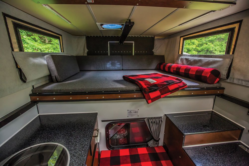 AEV Prospector XL with Four Wheel Camper, home away from home