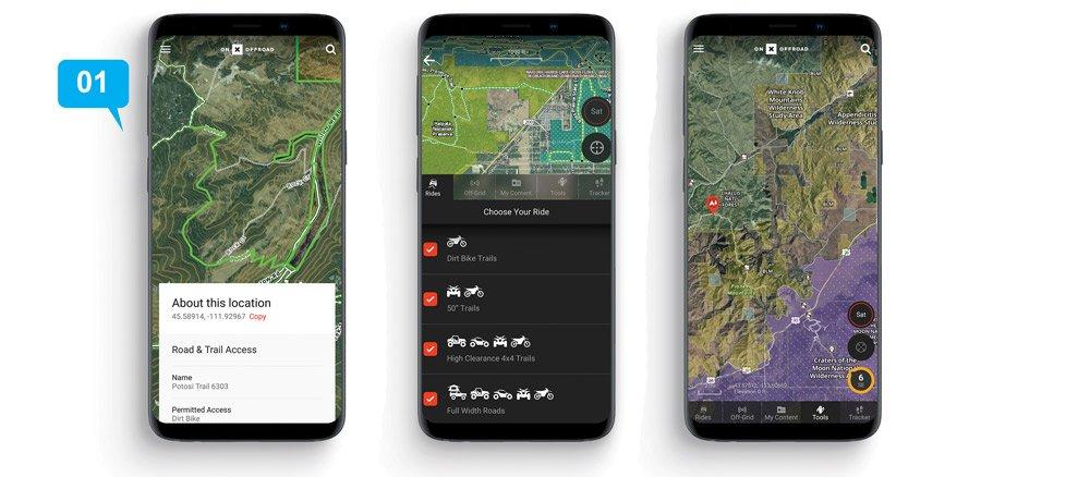 onX Offroad App