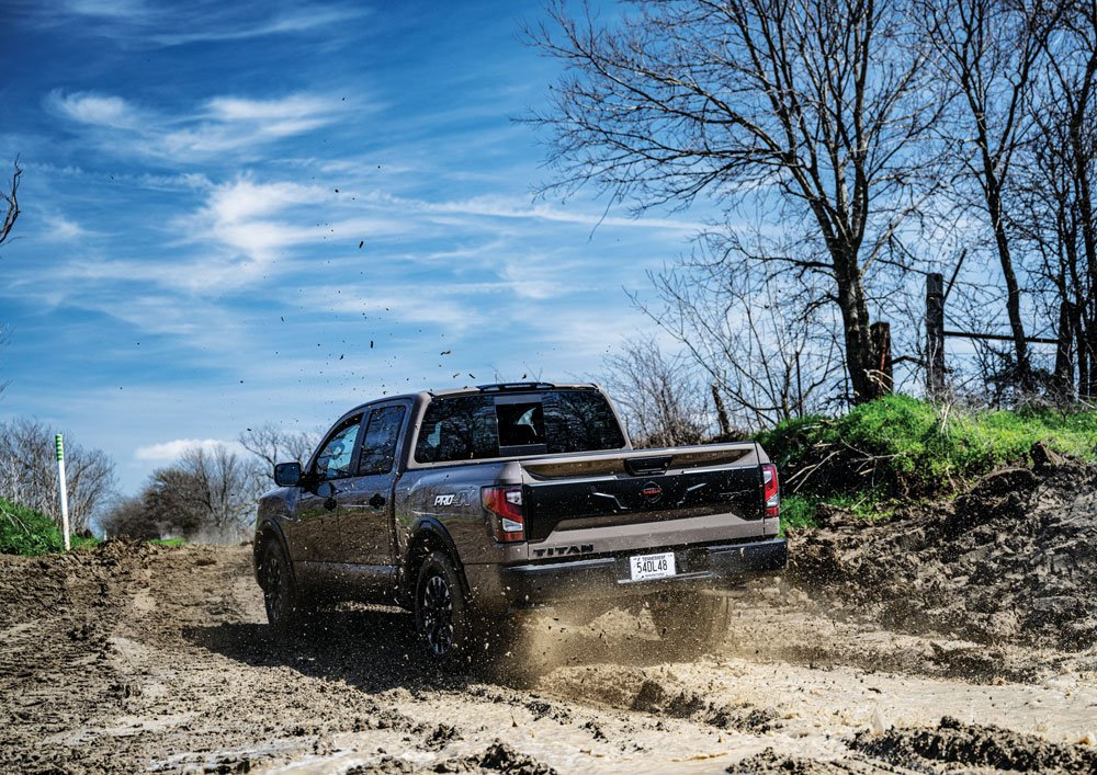 9.8 inches of ground clearance helps with maneuverability