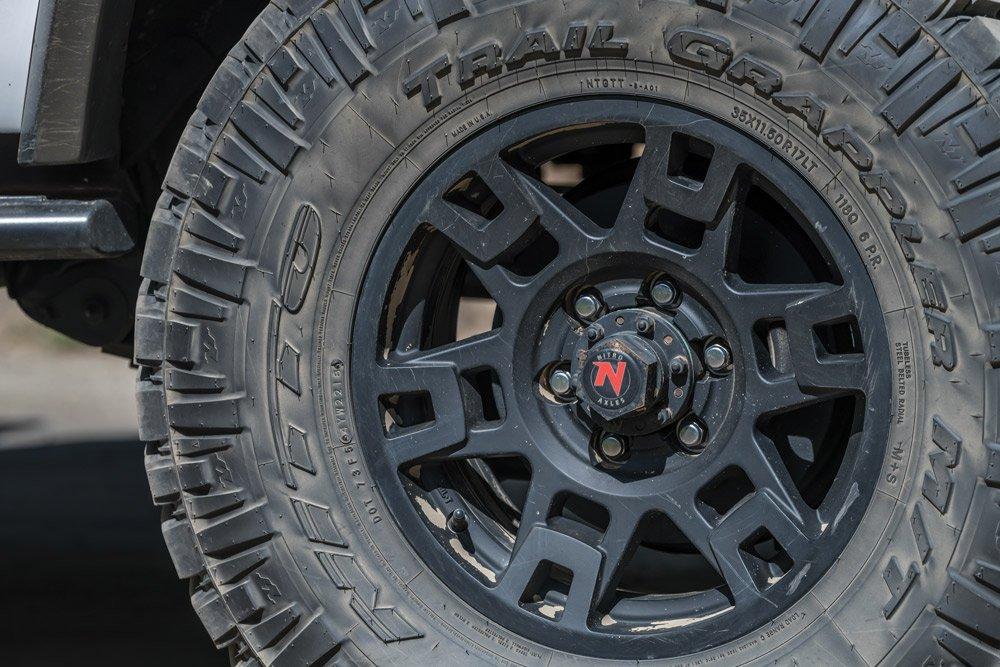 Toyota TRD Pro wheels