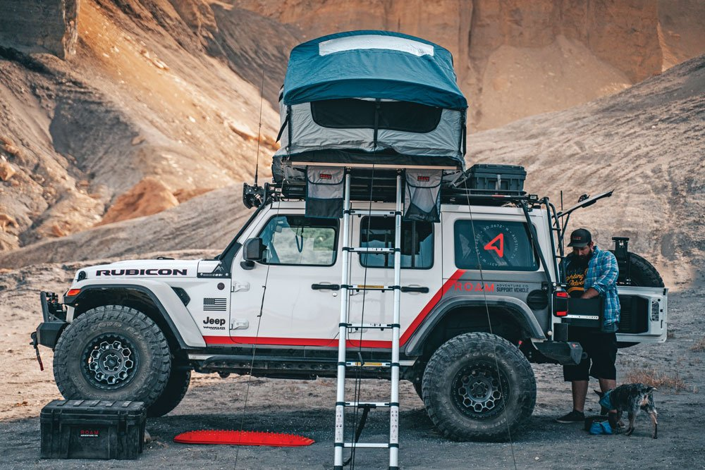 With an RTT, everywhere is the perfect camping spot