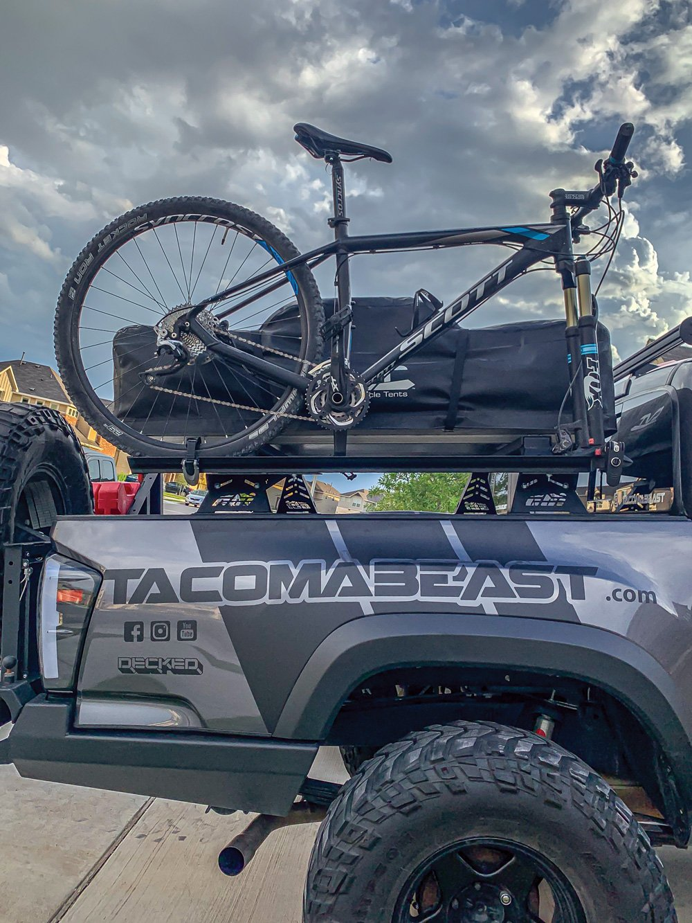 This Tacoma is able to carry it all