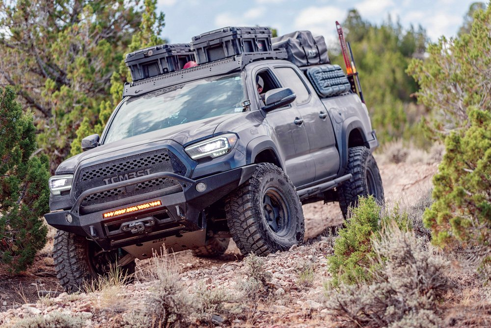 Tacomabeast and Tread Lightly collaborated on a meet-up at Four Peaks Wilderness Area