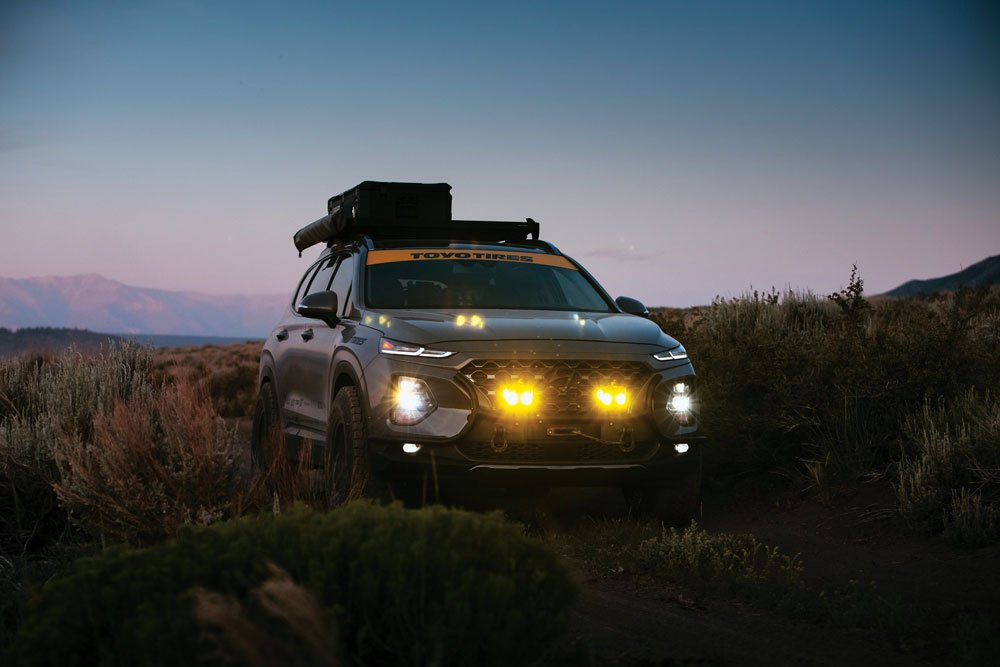 The Santa Fe is daily commuter that moonlights as an adventure rig