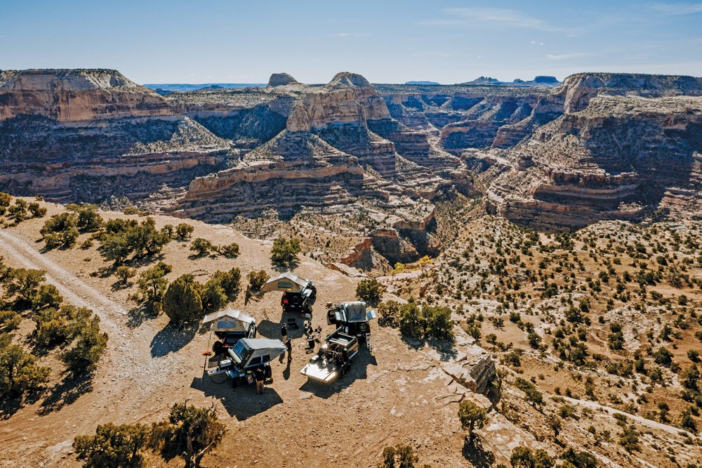Expedition Overland Tundra among the expansive Utah landscapes