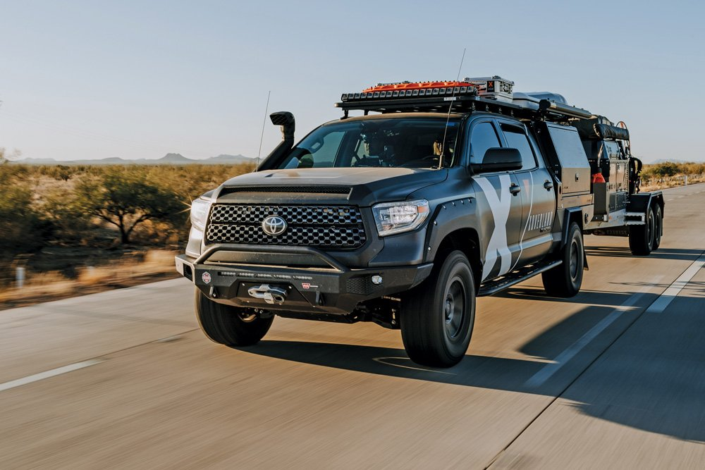 The Expedition Overland Tundra travels through Sonora, Mexico