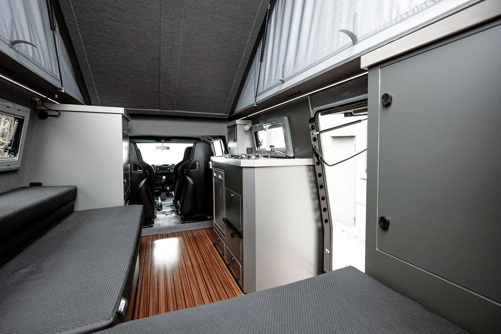 Maltec '93 Land Cruiser 80/79 series interior with various amenities