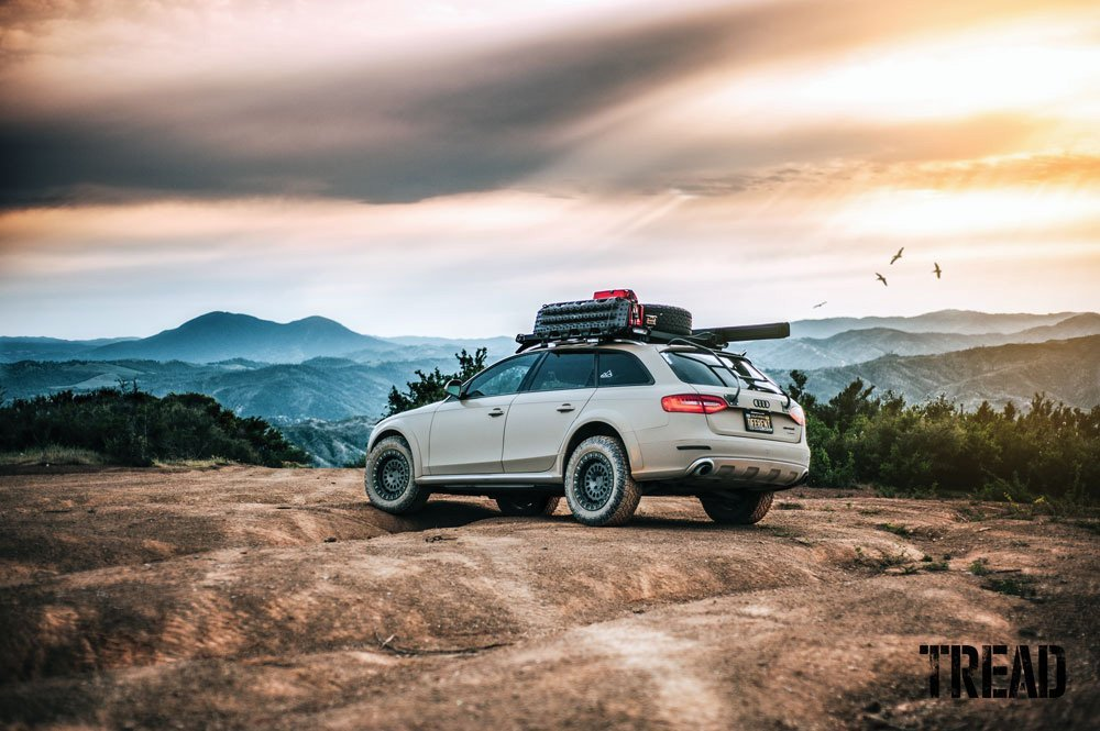 Lifted Audi Allroad off-road