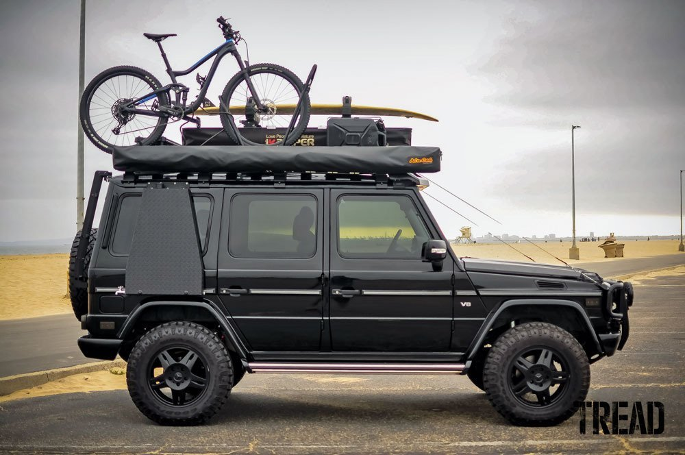 2003 Mercedes-Benz G 500 customized for adventure