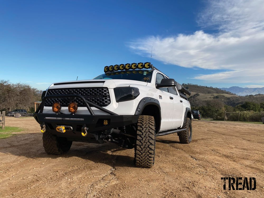 2017 Toyota Tundra built for off-roading