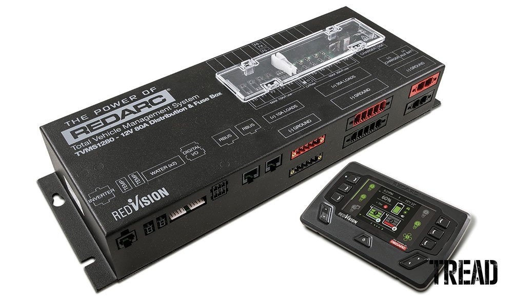 Redvision Total Vehicle Management System