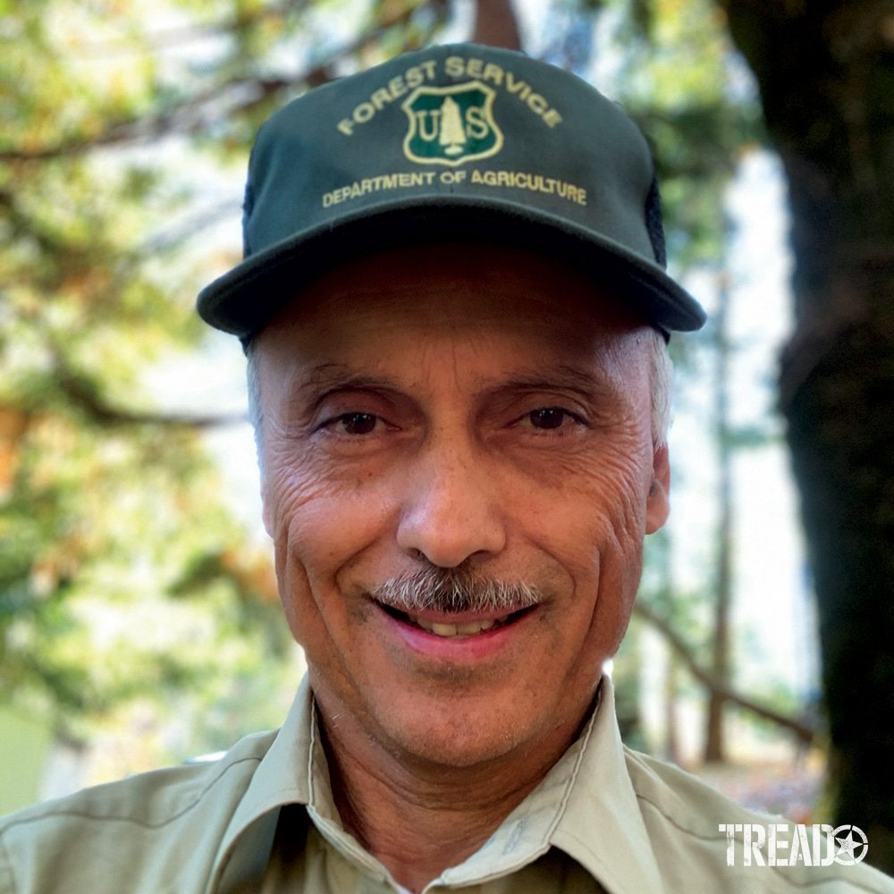 Photo of Joe Chavez, of Tahoe National Forest, in his uniform.