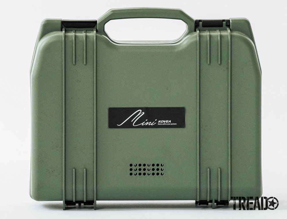 Along with the mint green carrying case, the KOVEA All-in-One Mini Stove is a go-to solution for camping.