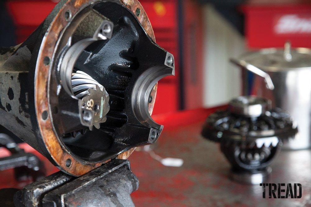 Re-gearing differentials will weaken pinion gear