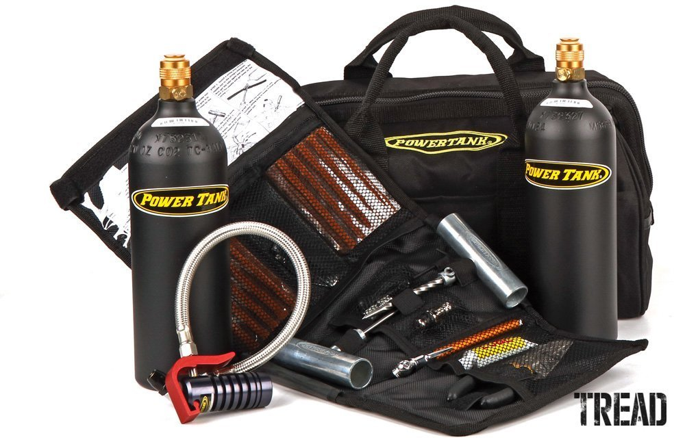 Power Tank/Crossover Tire Air-Up & Repair Kit