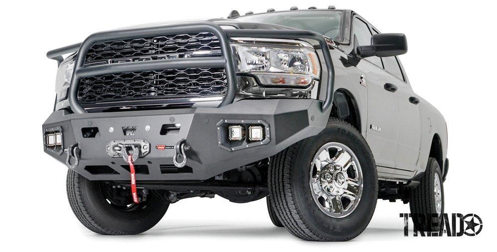 Warn/Ascent HD Bumper for '19+ Ram 2500-5500
