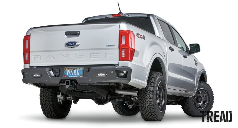 Warn/Ascent Rear Bumper for '20 Ford Ranger