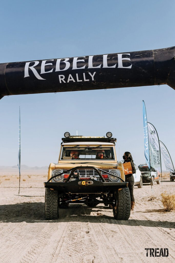 1969 Ford Bronco from 2020 Rebelle Rally