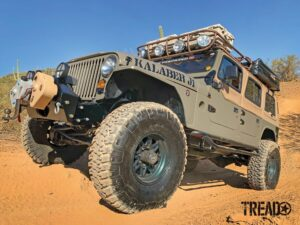 Kalaber Creations J1 Jeep in dirt