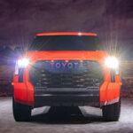 2022 Toyota Tundra TRD Pro in Solar Octane orange